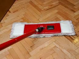 The Black Tea and Cleaning Hardwood Floors